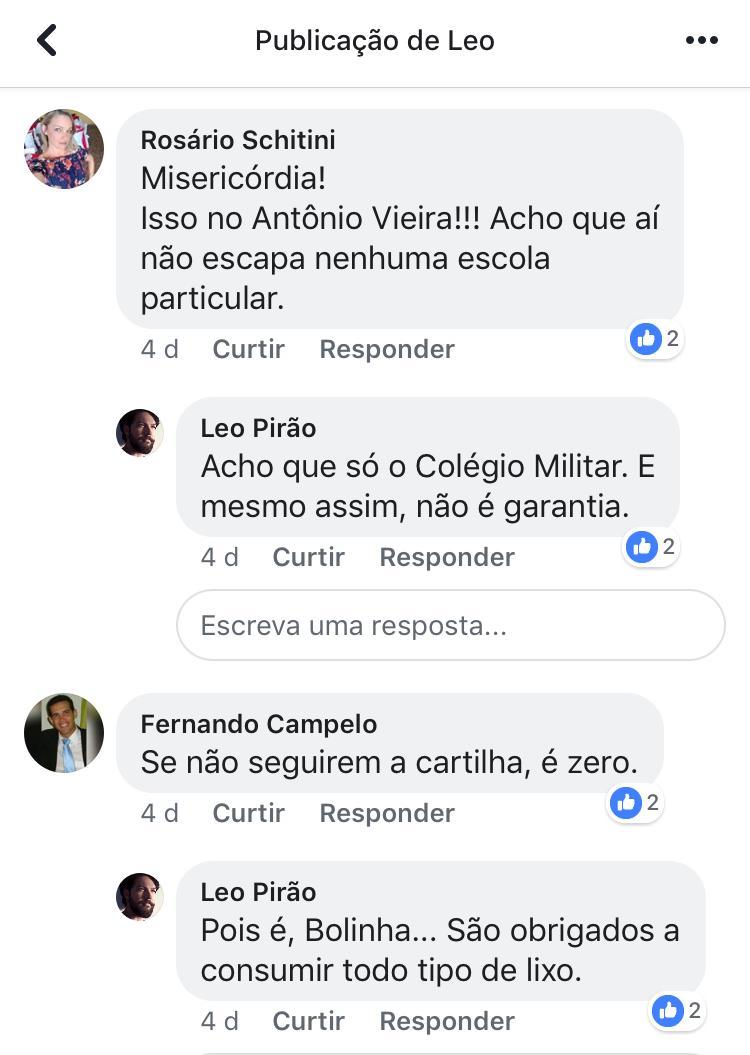 Reação dos Pais e Mães de alunos do Colégio António Vieira, assim que  souberam da adoção do livro NA MINHA PELE de Lázaro  Ramos.pic.twitter.com LintOFFb4y ... 63c52721c3