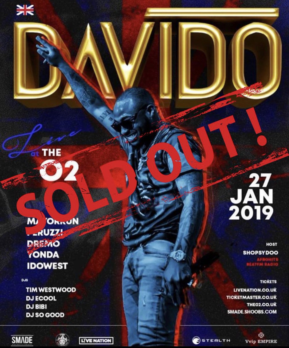The Boy Called David Sold Out The O2
