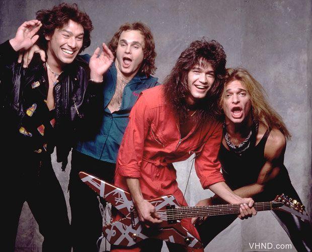 """MarieFranceRemillard sur Twitter : """"Eddie Van Halen and his shark guitar photographed with Van Halen in 1980. #EddieVanHalen #EverybodyWantsSome!!… """""""