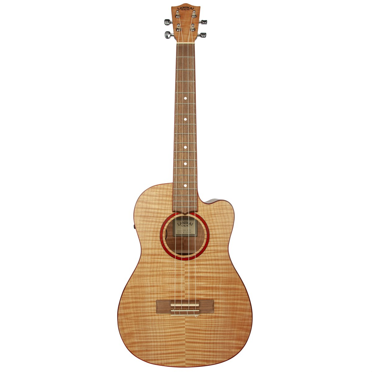 We have received many requests for an electric baritone so here is our NEW Flame Maple Cutaway Electric Baritone Ukulele!  #lanikaiukulele #lanikai #ukulele #baritoneukulele #ukuleles #NAMMShow #NAMM2019<br>http://pic.twitter.com/rTJmAx9WR8