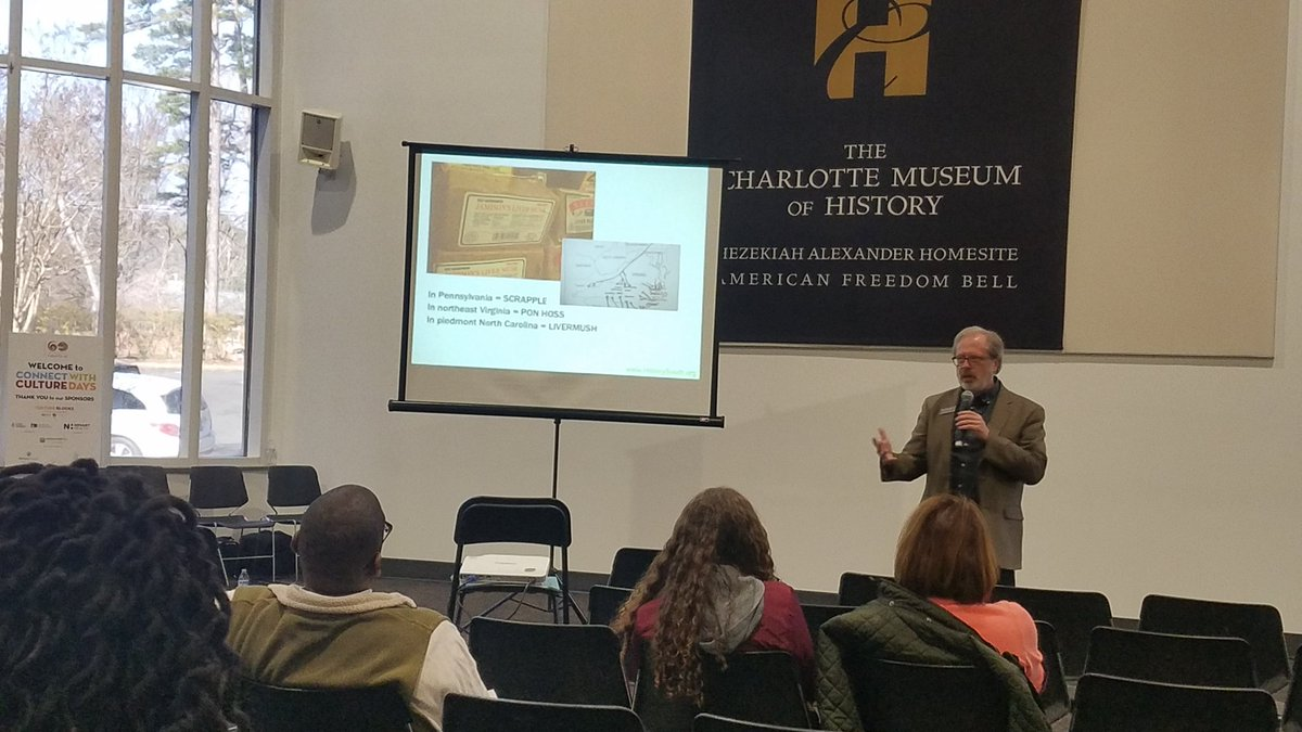 Livermush? Pon Hoss? Scrapple?   When you eat livermush, you're eating a tradition that's over 250 years old. And if you don't eat livermush, you should!  @historysouth  #CultureForAll #CLTHistory #CLT250 #ConnectwithCultureDays #ConnectWithCulture