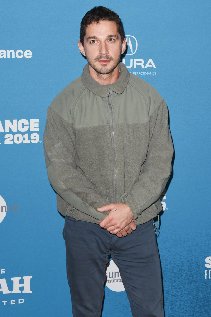 #ShiaLaBeouf and all the other stars at the #SundanceFilmFestival2019 https://t.co/lelPSg7yoR