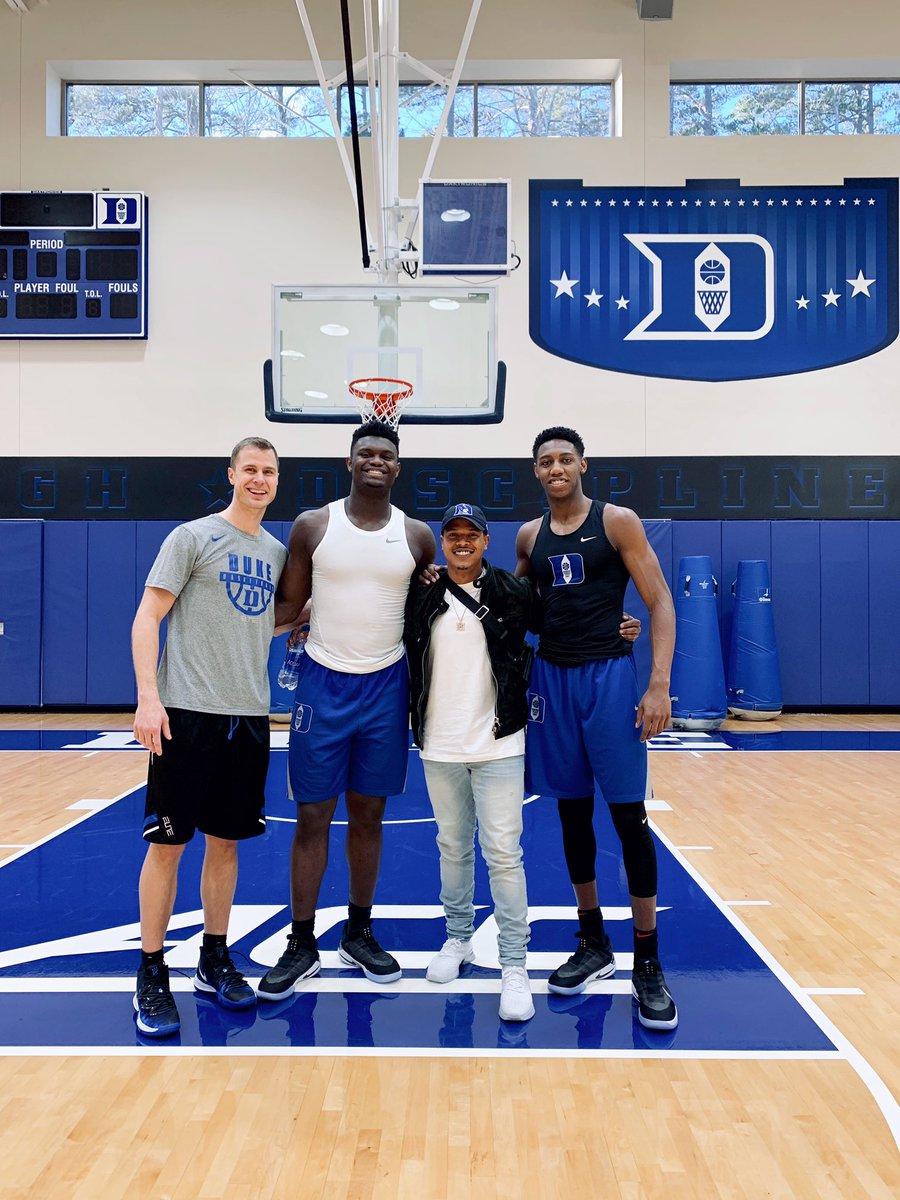 Self-explanatory. Duke family over all! @DukeU @DukeMBB @DukeBASE @DukeATHLETICS 😈