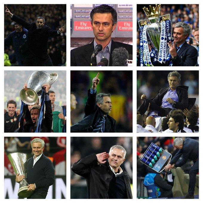 Happy 56th Birthday, Jose Mourinho.  Sometimes great. Always entertaining