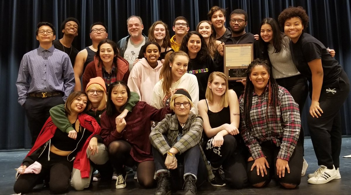 Wakefield places first at Region VHSL one act play with Runaways!!! <a target='_blank' href='http://twitter.com/WHSHappenings'>@WHSHappenings</a> <a target='_blank' href='http://twitter.com/WakeAthletics'>@WakeAthletics</a> <a target='_blank' href='http://twitter.com/wakefieldchief'>@wakefieldchief</a> <a target='_blank' href='http://twitter.com/devinshirley'>@devinshirley</a> <a target='_blank' href='https://t.co/vNf50KqYl8'>https://t.co/vNf50KqYl8</a>