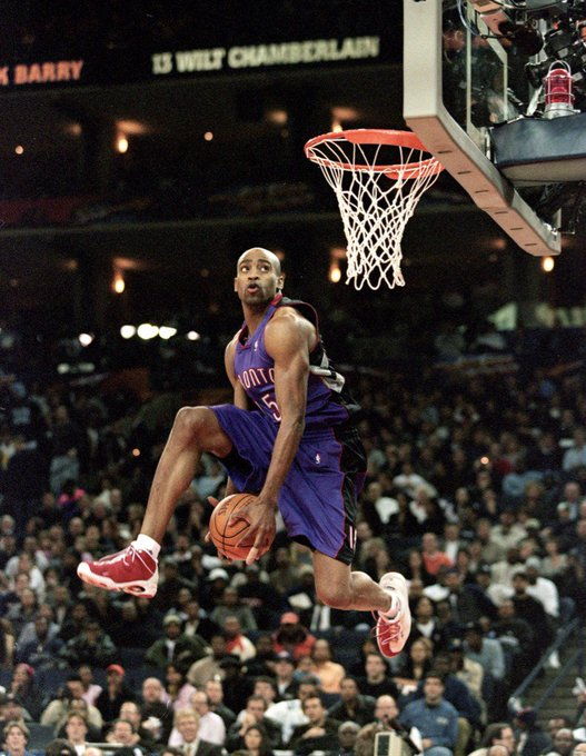 Happy Birthday Vince Carter!  42 today...still playing..still impactful...not normal..nor is that easy...props given