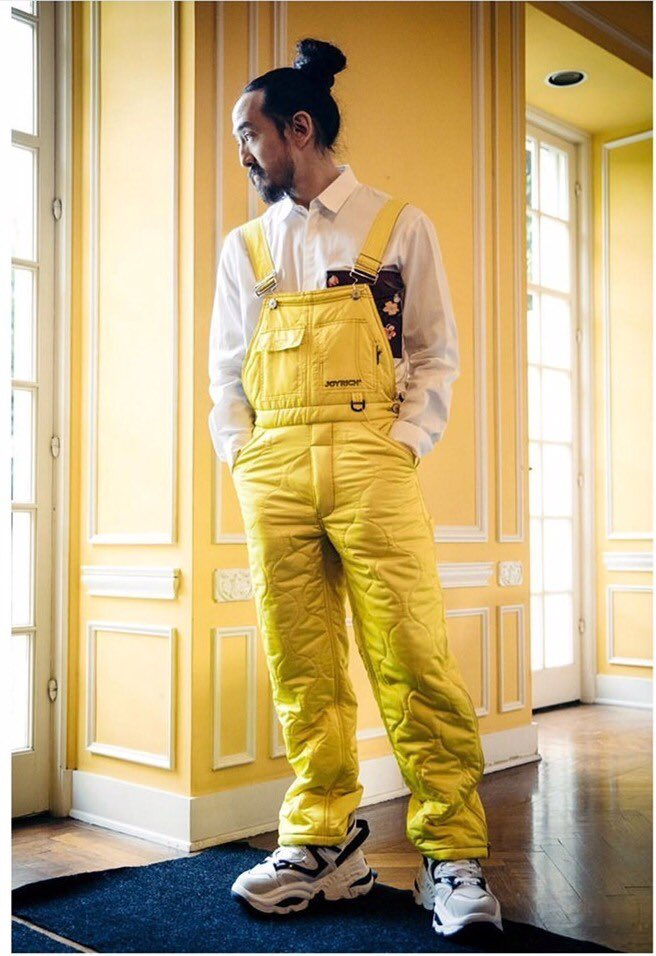 ⚡️ @steveaoki in our Joyrich x @vfiles overalls ⚡️ Shop collection at https://t.co/pl8OopJW2W https://t.co/fNPNxiG9iB