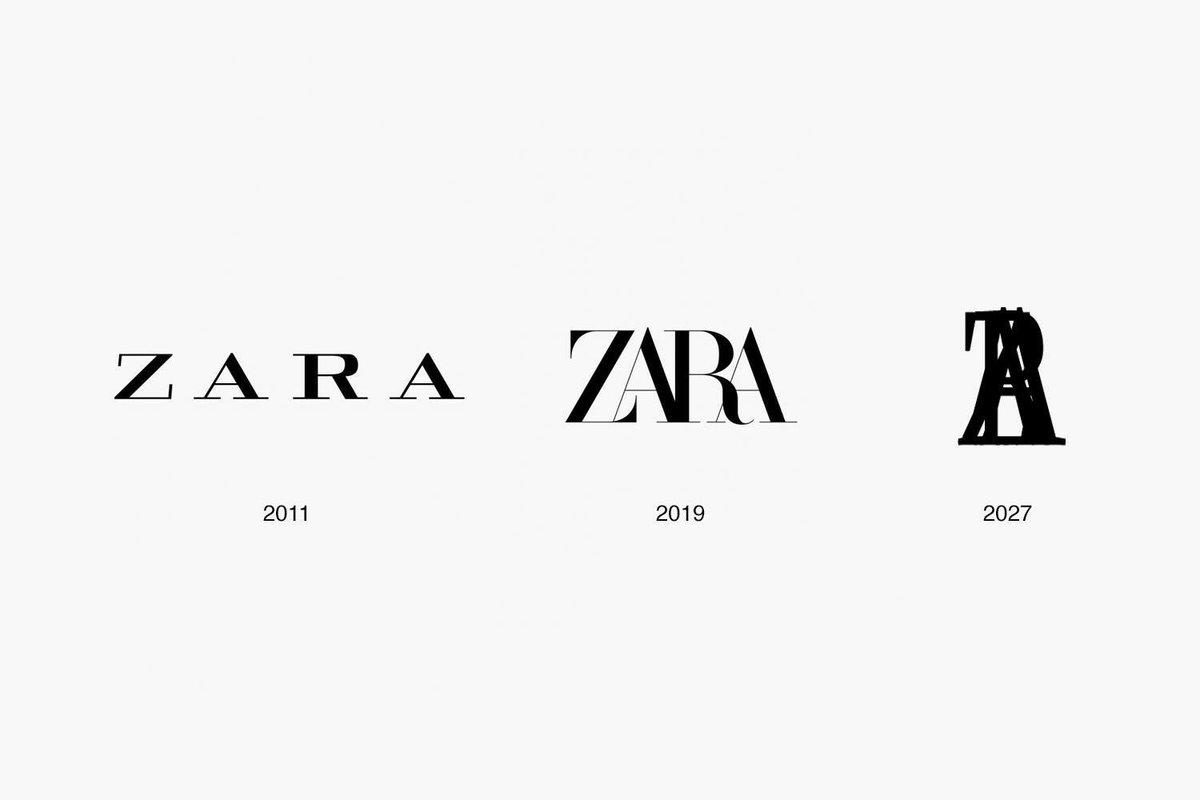 Fabio On Twitter Zara Have Updated Their Logo