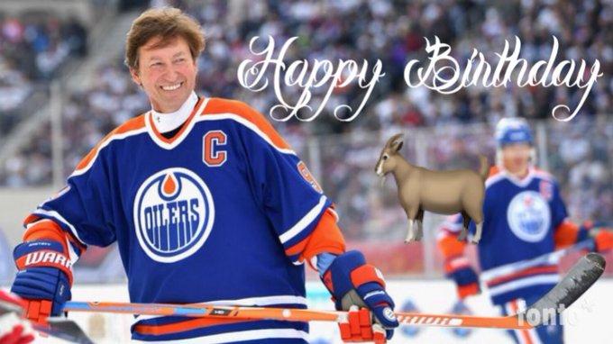 Happy Birthday to the G.O.A.T Wayne Gretzky!