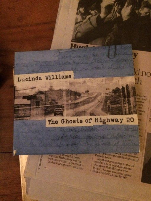 Happy Birthday to Lucinda Williams Just listening to this, Lucinda never lets me down x