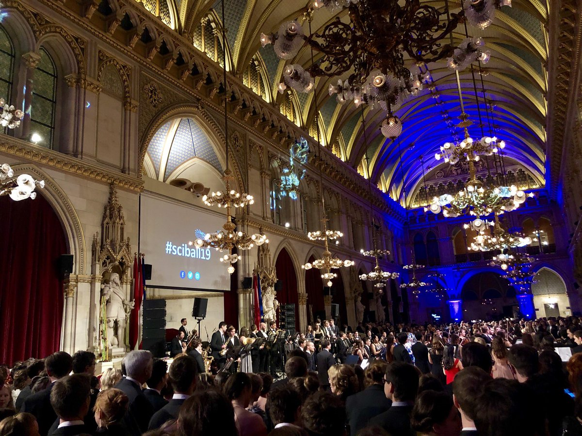 test Twitter Media - Nice evening at #SciBall19 #vienna city hall impressive as usual #dance not only #waltz https://t.co/Tudn359nri
