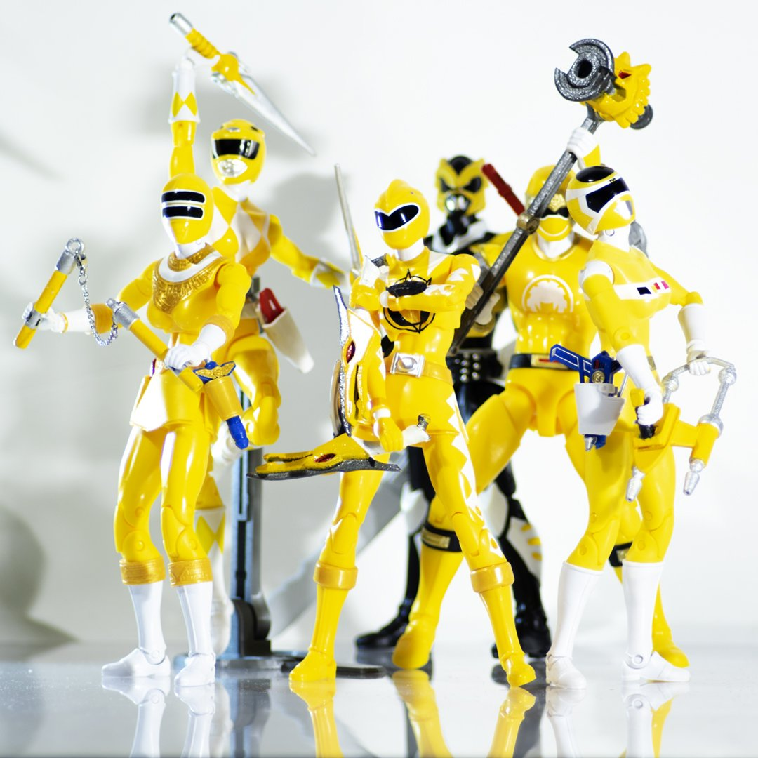 5826c44dd The Ranger Power of Yellow #3dprinting #3dprint #productdesign  #productphotography #industrialDesign #powerrangers #sentai #supersentai  #toys #creative ...