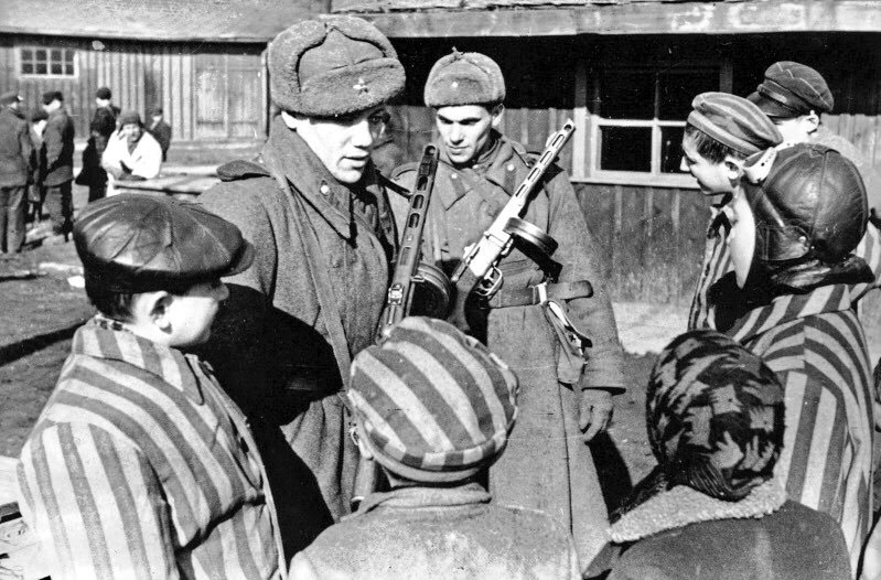 January 27th, the anniversary of the Soviet liberation of Auschwitz.  The day designated by the United Nations as International Holocaust Remembrance Day 🕯  #HolocaustMemorialDay #WeRemember WW2 #OTD