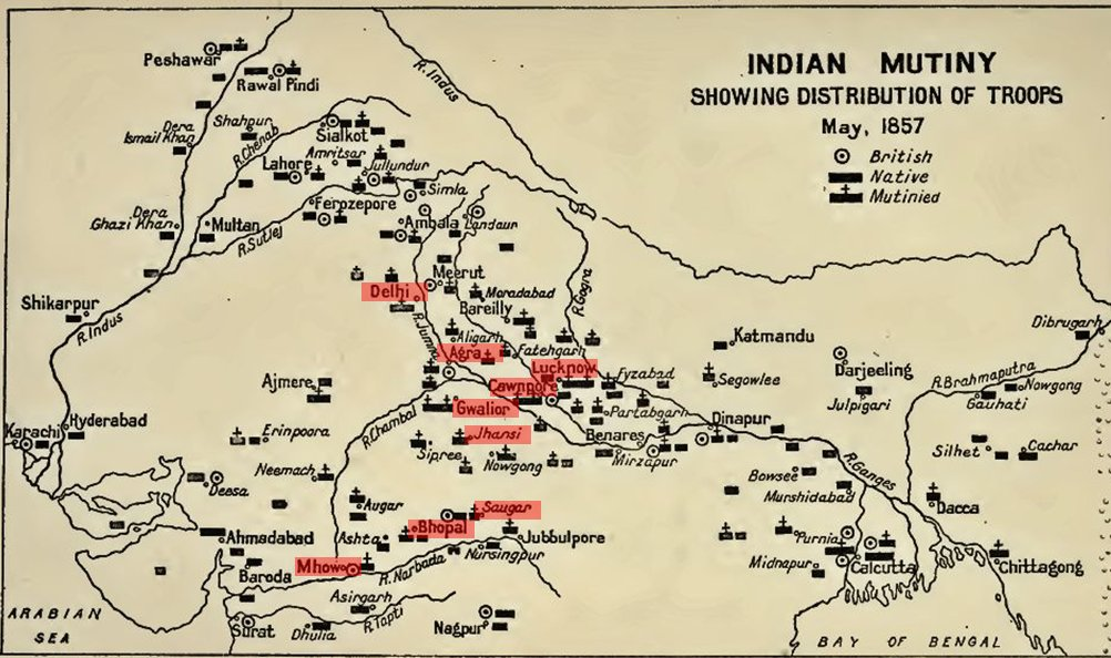 1857: The Central Indian Campaign