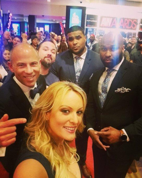 AVN awards red carpet selfie  #teamstormy #AVNawards https://t.co/k1TdH9x5cy