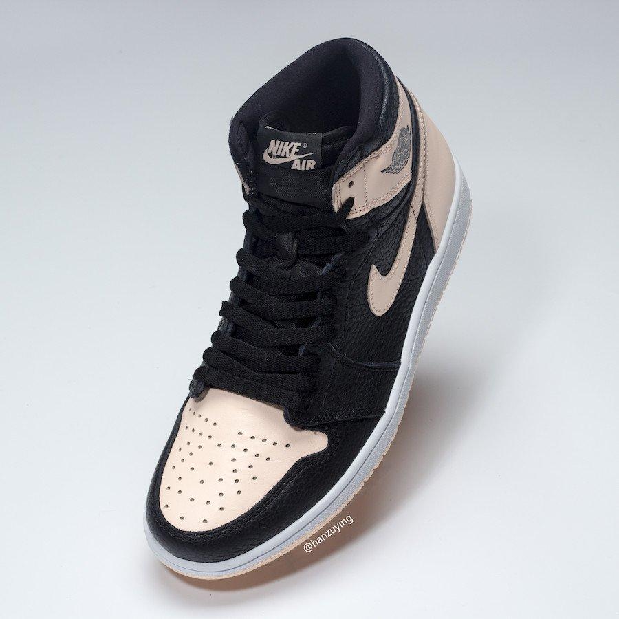 online retailer bc520 ab482 Air Jordan Retro 1 High OG Color  Black Crimson Tint-Hyper Pink-White Style  Code  555088-081 Release Date  April 27, 2019 Price   160pic.twitter.com   ...