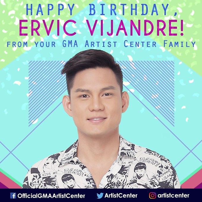 Happy Birthday to star Ervic Vijandre (