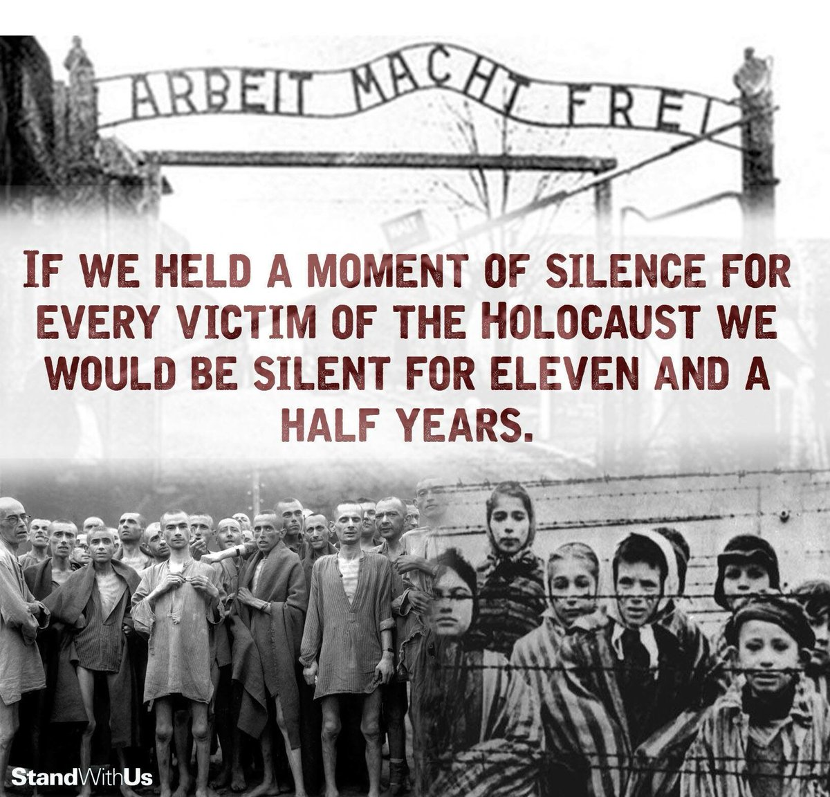 #HolocaustRemembranceDay WE REMEMBER THEM ALL Jews: 6,000,000 Soviets (including Jews): 10,000,000 Poles (non-Jewish): 1,800,000 Serbs: 312,000 Disabled: 250,000 Romani: 220,000 Homosexuals/Criminals 70,000+ #⃣ #HolocaustMemorialDay  🔗 Source: https://www.jewishvirtuallibrary.org/documenting-numbers-of-victims-of-the-holocaust…