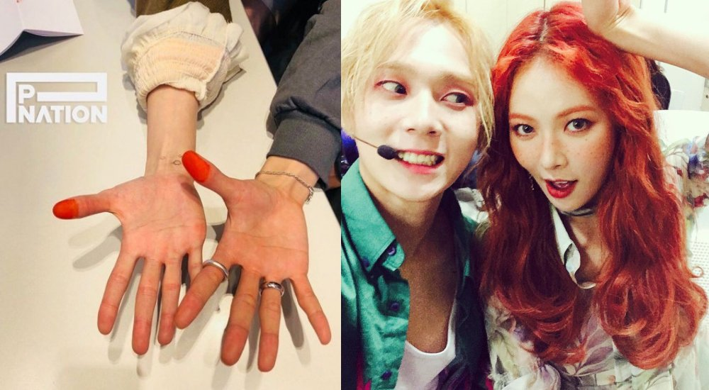 HyunA and EDawn officially sign contracts with Psys record label P-NATION allkpop.com/article/2019/0…