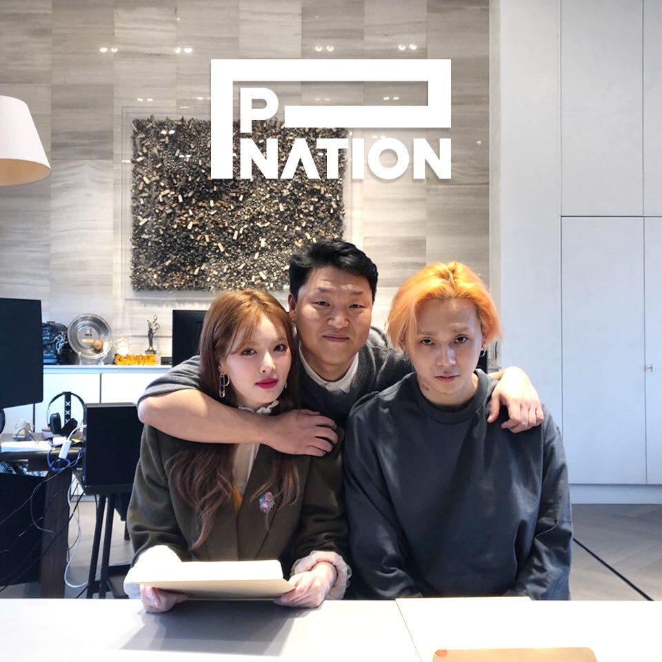 #welcome #Hyunah #Edwan #pnation #피네이션