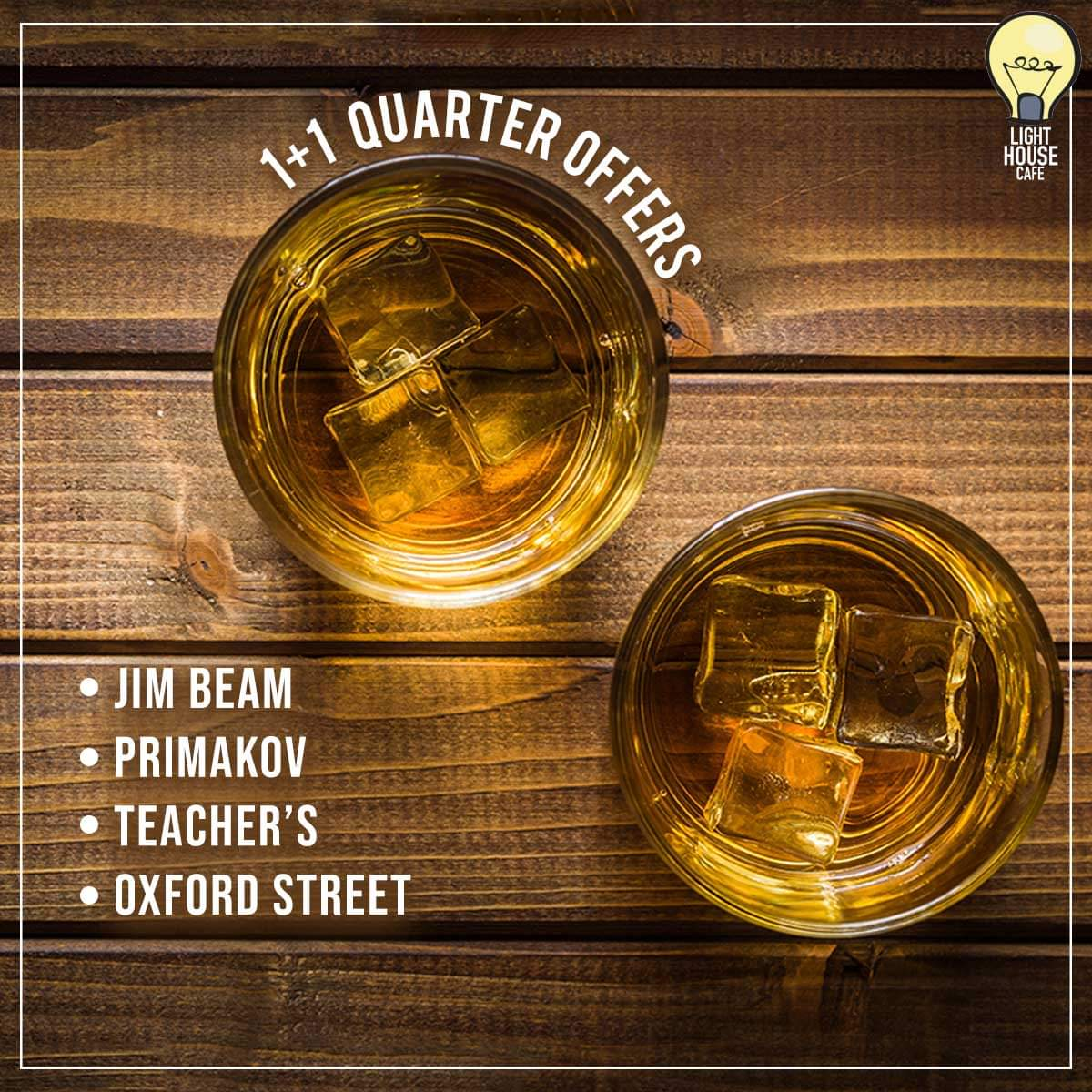 Unwind yourself with our 1 + 1 Quarter Offers and fill your Sunday with amazing stories only at Light House Cafe Mumbai  #LHC #Worli #Mumbai #Zomato #Blogpost #bloggers #Weekday #CurlyTales #Weekends #Thingstodo #Mumbaifoodie #Foodgasm #mumbaifood #indianblogger #dailyfoodfeed