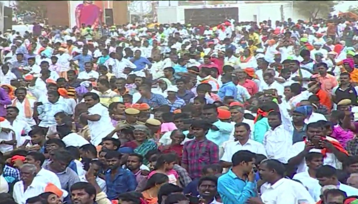 You are all aware of the link between Rameshwaram and Pemban, which was snapped in 1964.  For the last 50 years, there has been a demand to re-establish it. We have begun work on this project: PM @narendramodi #TNWelcomesModi