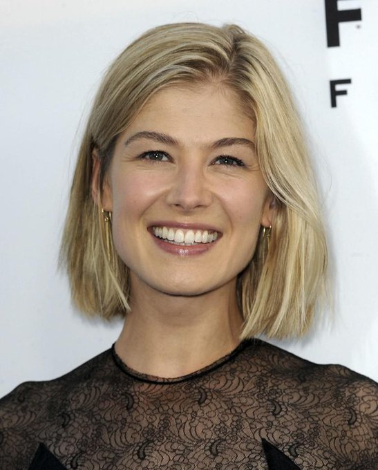 Happy birthday to, Rosamund Pike!