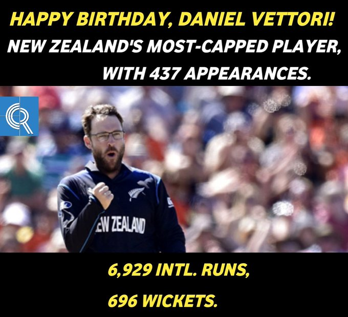 Happy Birthday, Daniel Vettori!  . .