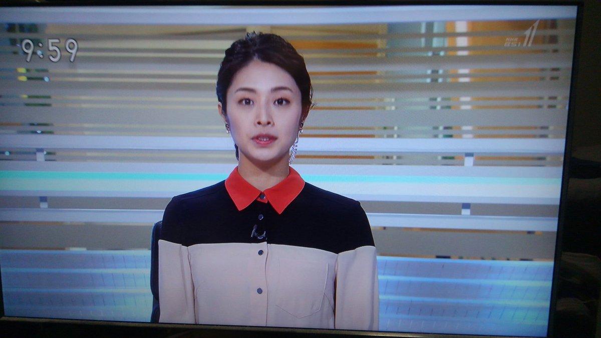 ニュース 女子 アナ Bs