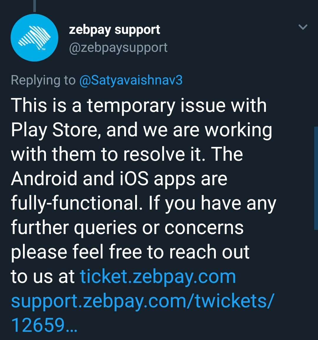 zebpay hashtag on Twitter