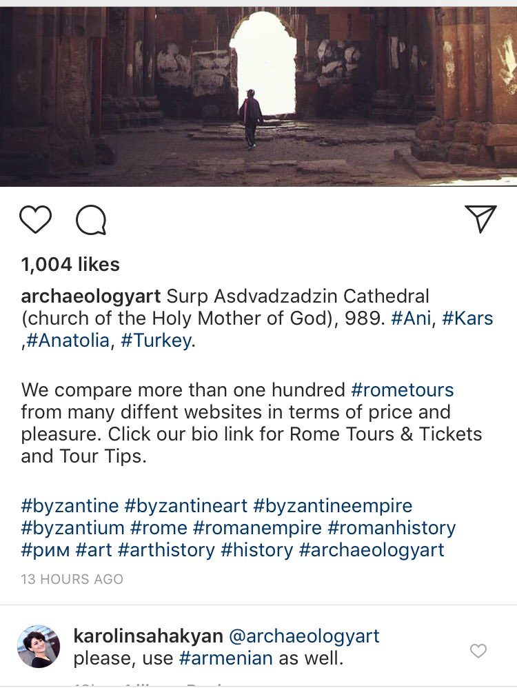 @archaeologyart @romebyzantium  Why don't you use #Armenian ?  #ArmenianGenocide #architecture