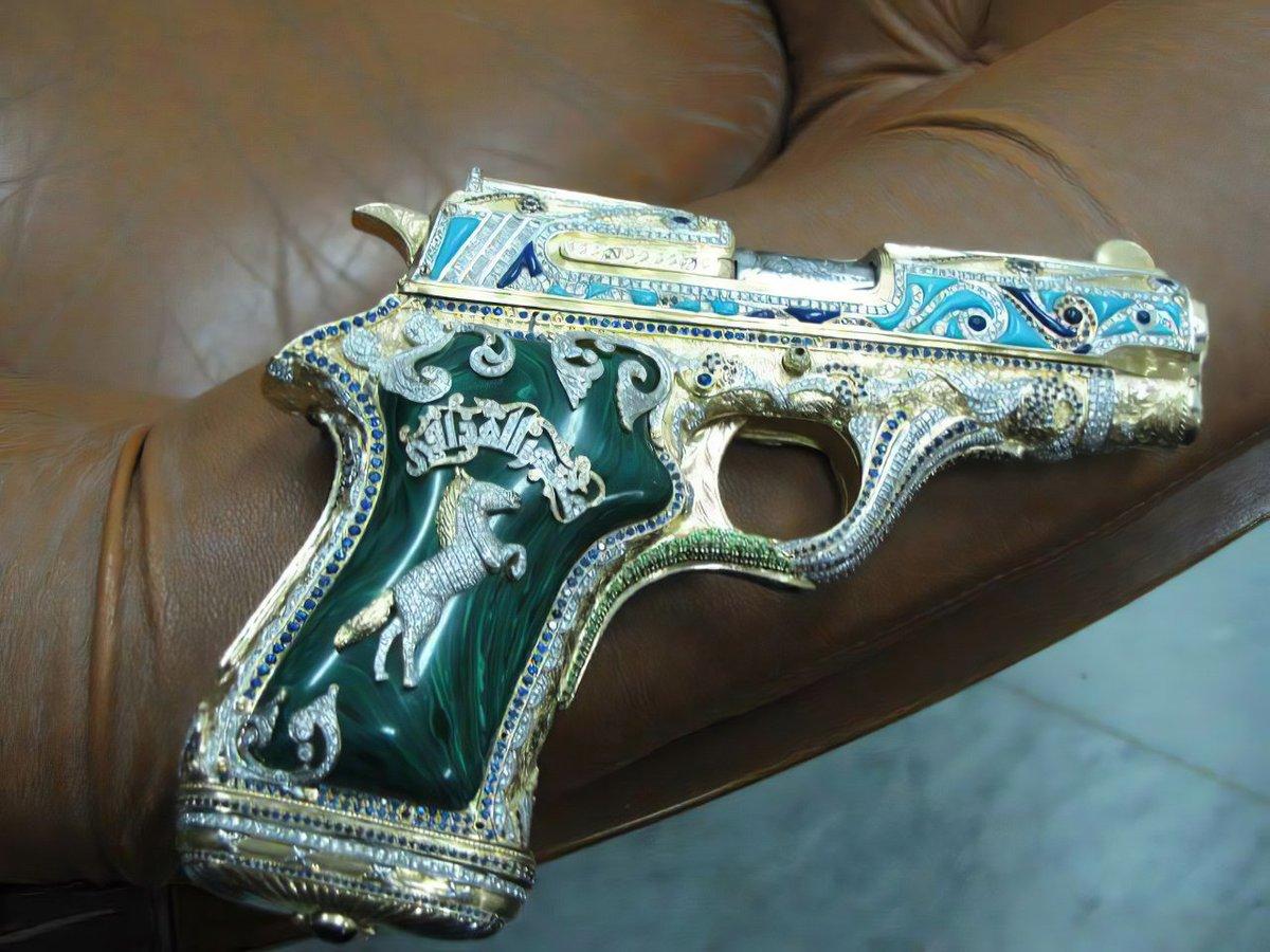 Оружие из золота каддафи