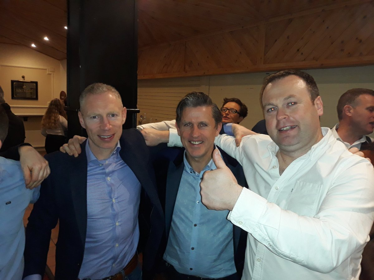 Doheny Dinner Dance - Tightest full back line in the land #25years @CoCo_llins @pmurray254