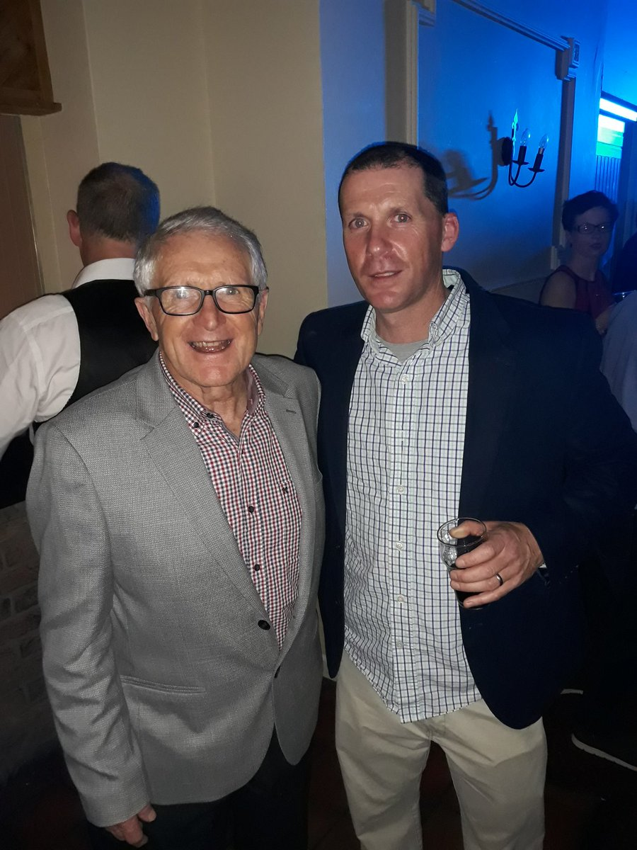 Doheny Dinner Dance- Father and Son. Thanks to Aidan O'Rourke who made a huge effort, coming all the way back from San Francisco for the 25 year reunion