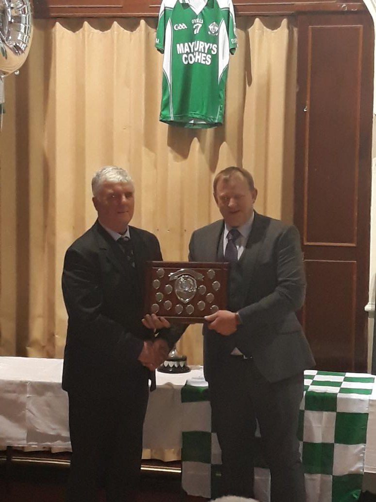 Doheny Dinner Dance - Club man of the Year Mark Farr