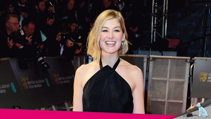 Happy 40th birthday to Rosamund Pike!