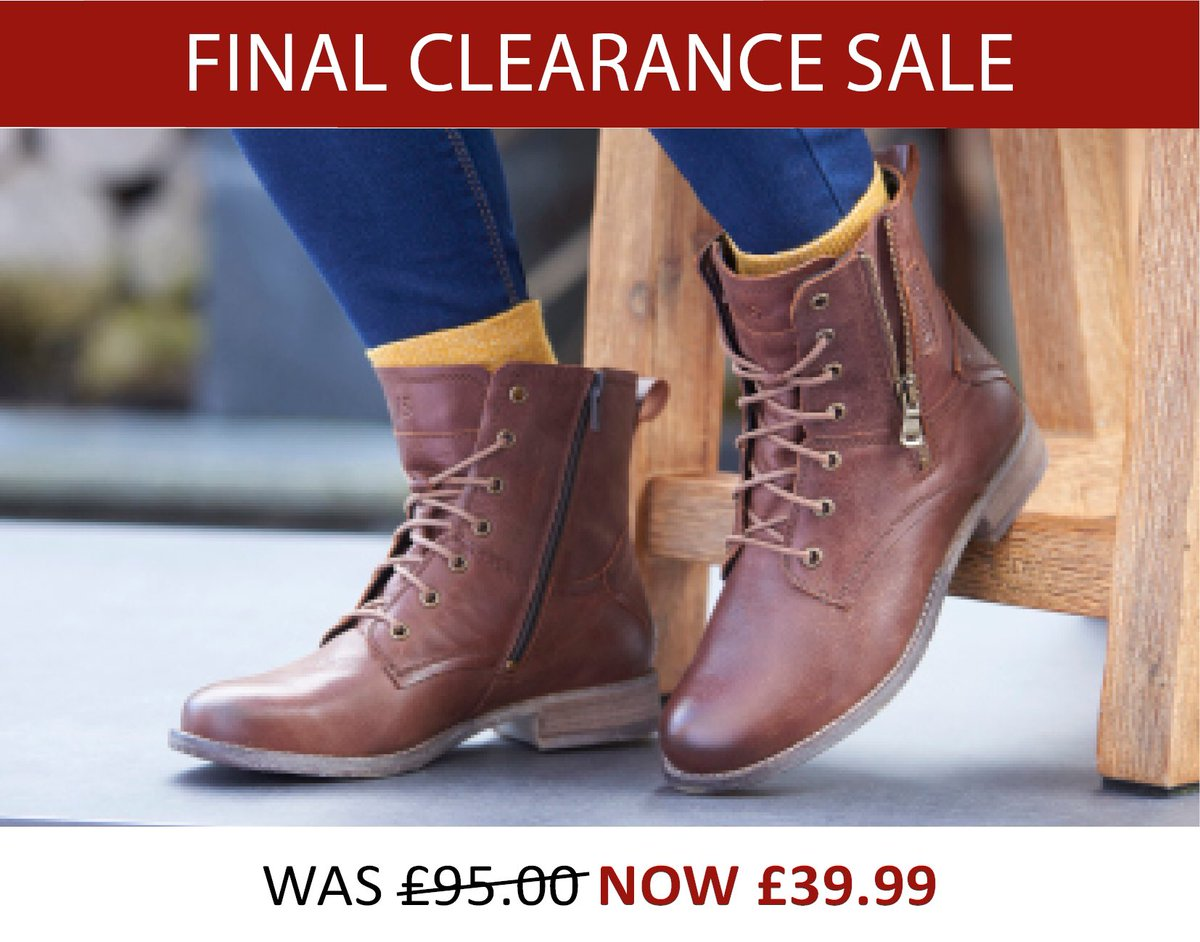 brown leather Sienna boots was £95.00