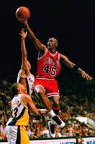"""The second I let down, particularly if I'm perceived as the leader, I give others an opening to let down as well."" Michael Jordan"