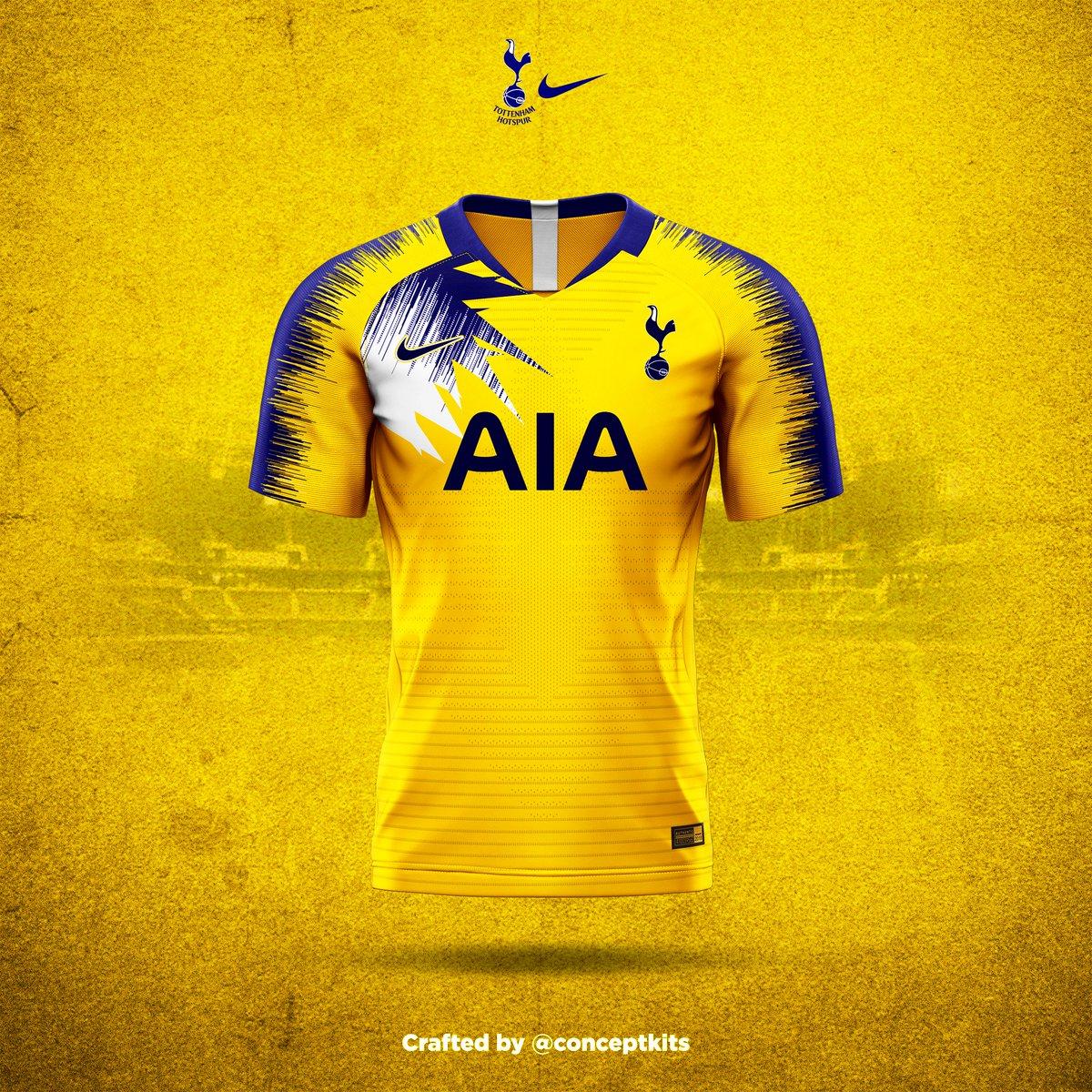 newest 7d025 ba7b4 ConceptKits Tottenham Hotspur Football Club away kit concept ...