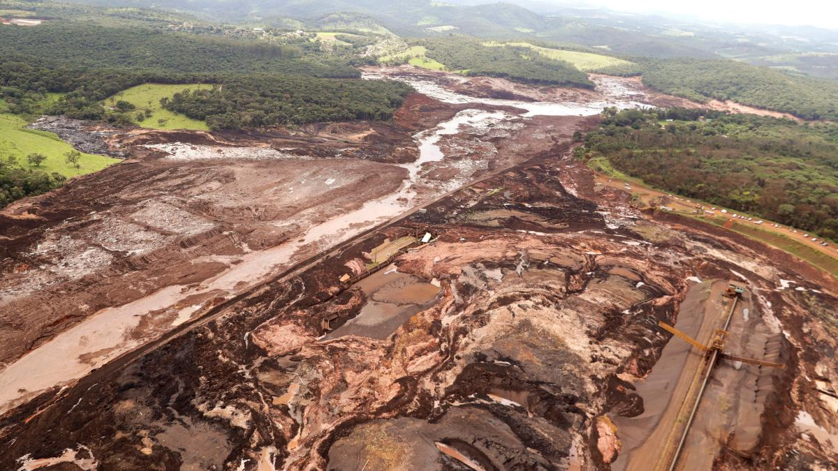 Staudamm brasilien