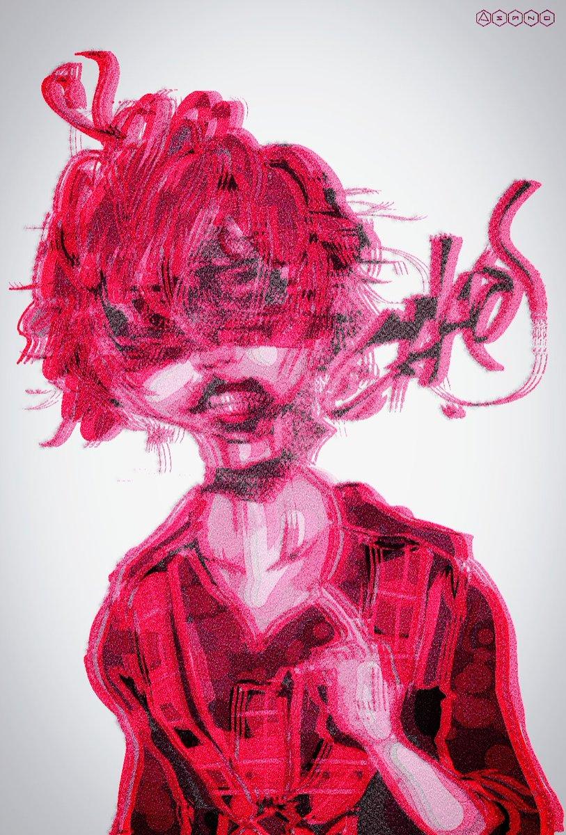 神戸港にて カオパモモコ #浅野の絵 #モモコグミカンパニー #BiSHイラスト #BiSHカオパ #LSN  2019.1.27.