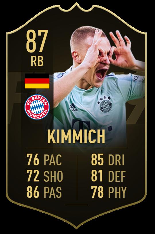 #TOTW20 Kimmich ? 2 Assists (4-1) Thiago ? 1 Goal (4-1) Plano ? 1 Goal + 1 Assist (2-1) Semedo ? 1 Goal (2-0)