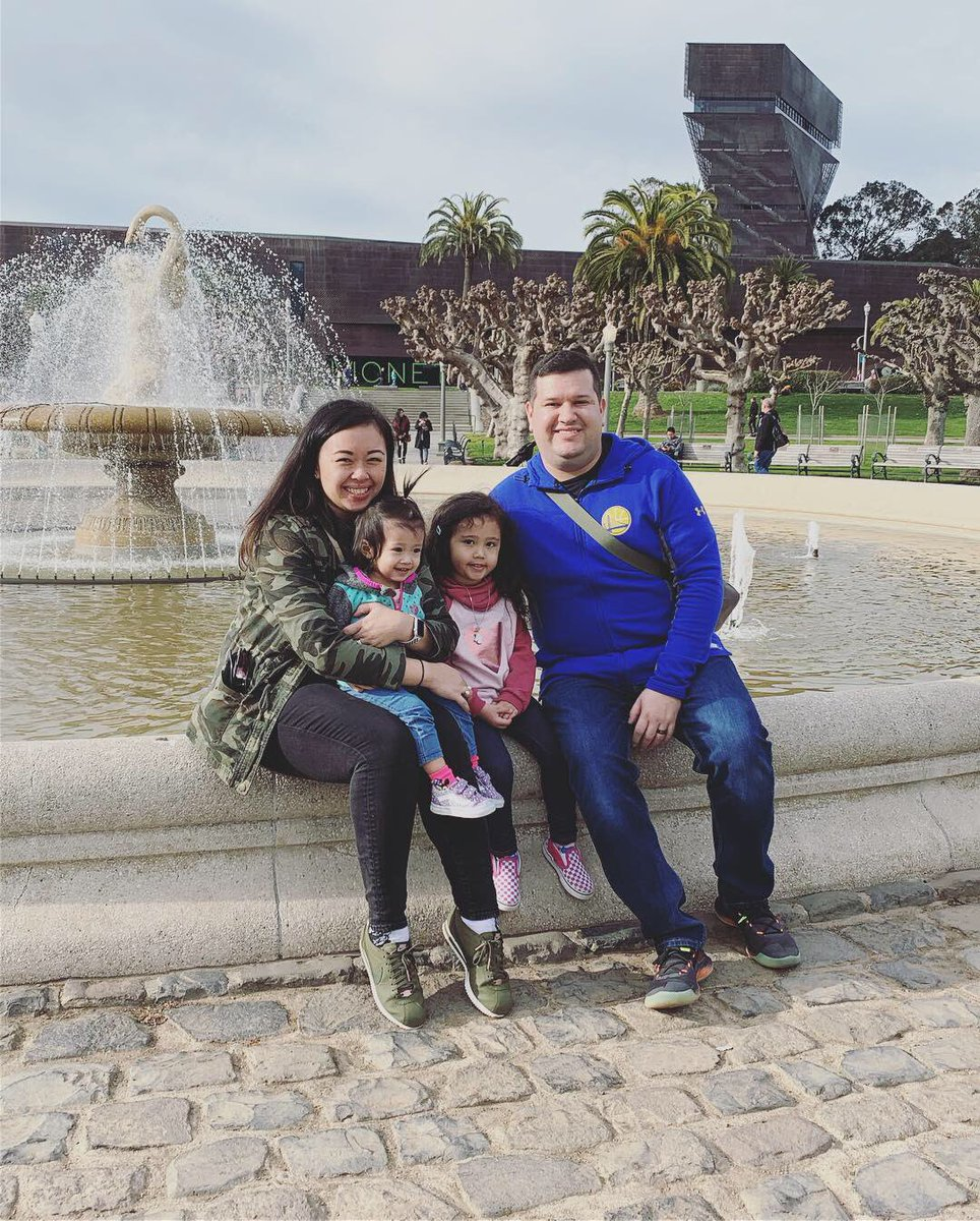 The girls enjoyed their first trip to the #californiaacademyofsciences and Golden Gate park  pic.twitter.com/auzdaNz0IX