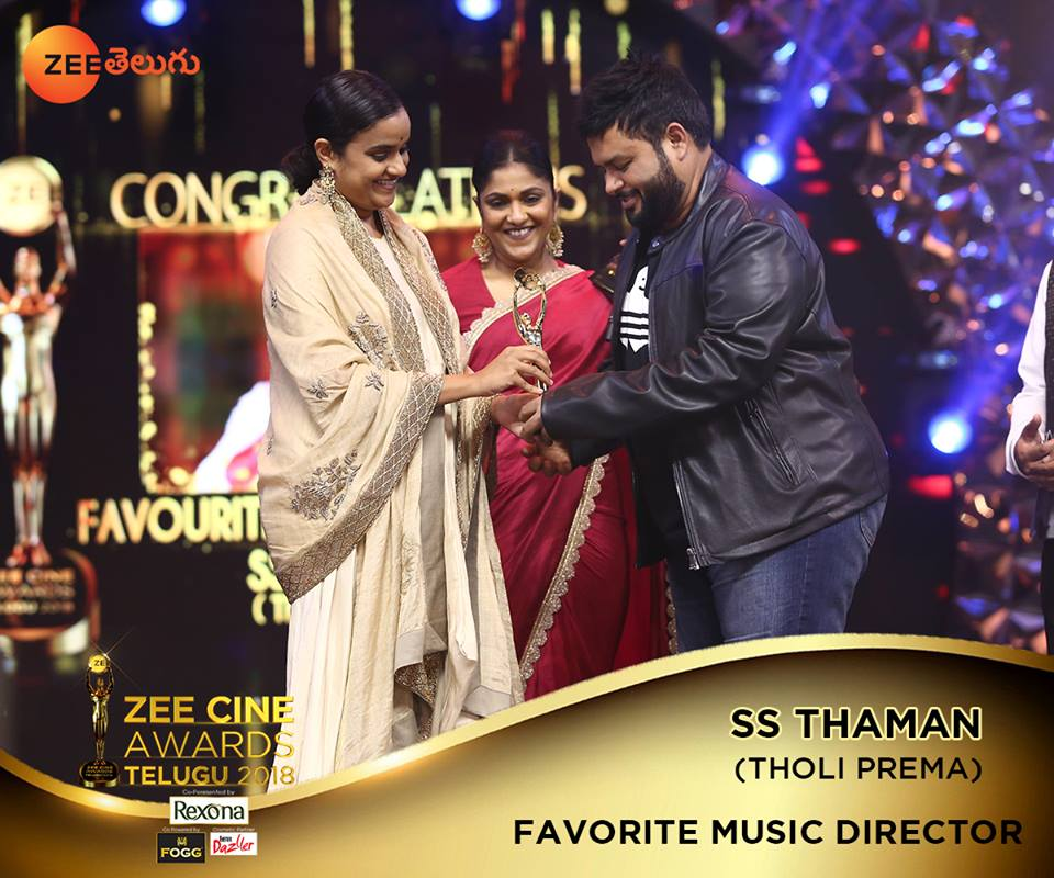 Zee Cine Awards 2018 Telugu Winners