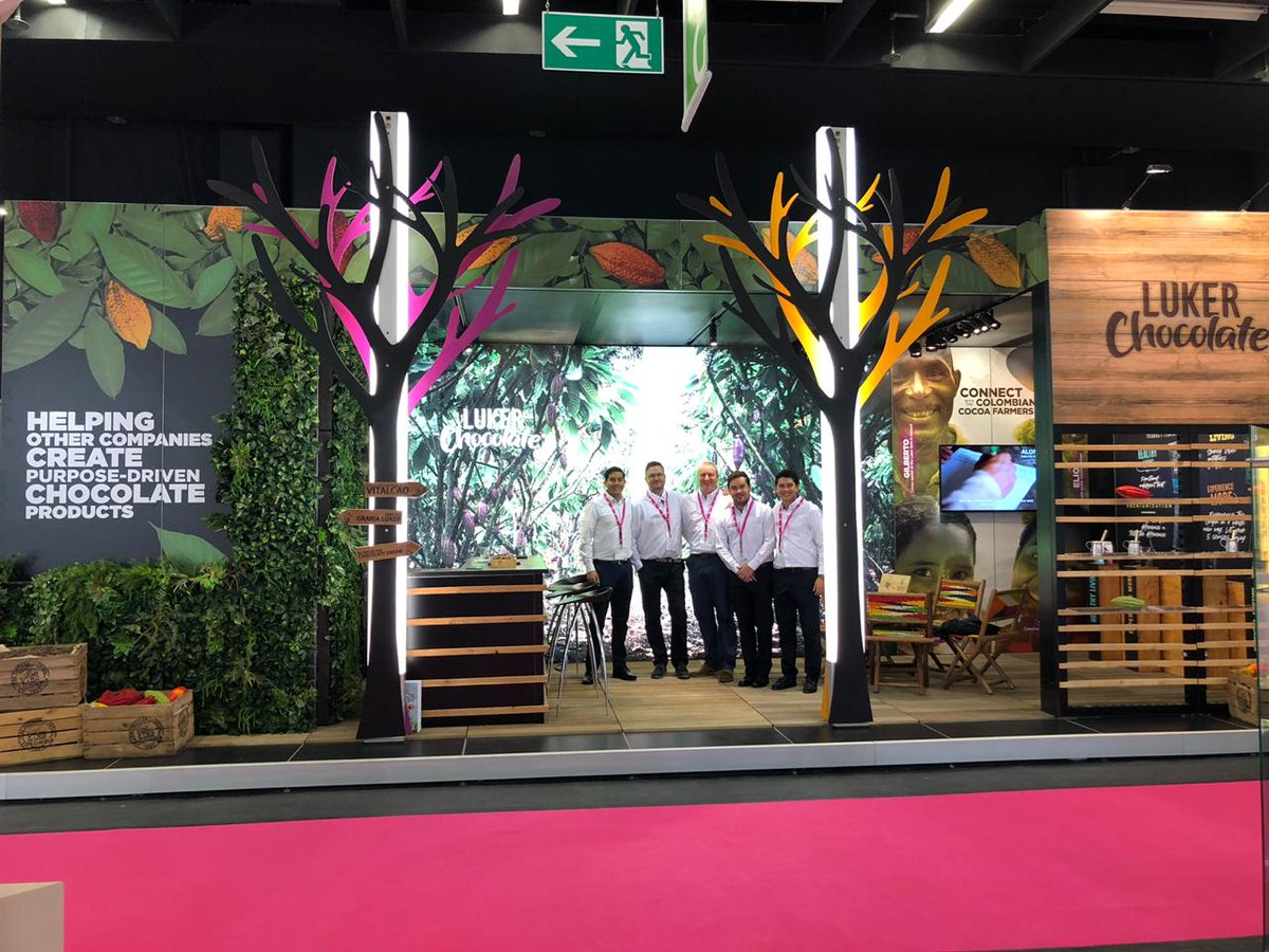Join us at ISM! Cologne, Germany. Booth 11.2 G49. Come and taste the best of our Fino de Aroma Colombian chocolates made in origin. Learn how we can help your company create purpose-driven chocolate products. January 27 - 30. #ISM #CacaoFinodeAroma #LukerChocolate https://t.co/5xzy6xthHx