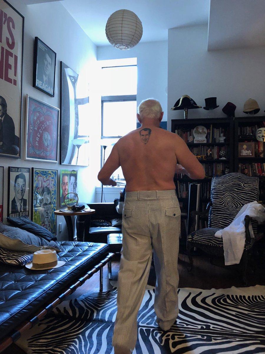 Manuel Roig Franzia On Twitter Man With Nixon Tattoo And