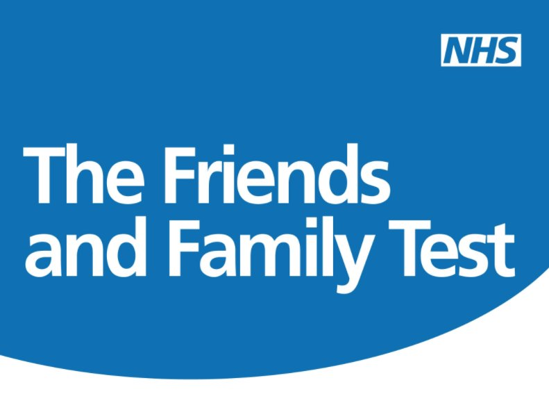 Image result for friends and family nhs