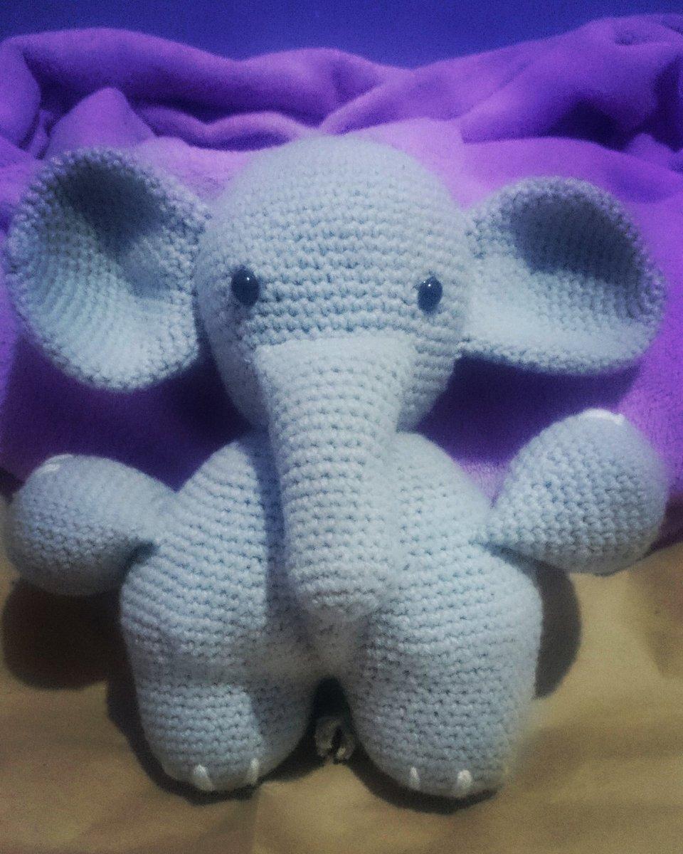 Ella the Elephant and her Boyfriend ❤️ MyCrochetPattern | 1200x960