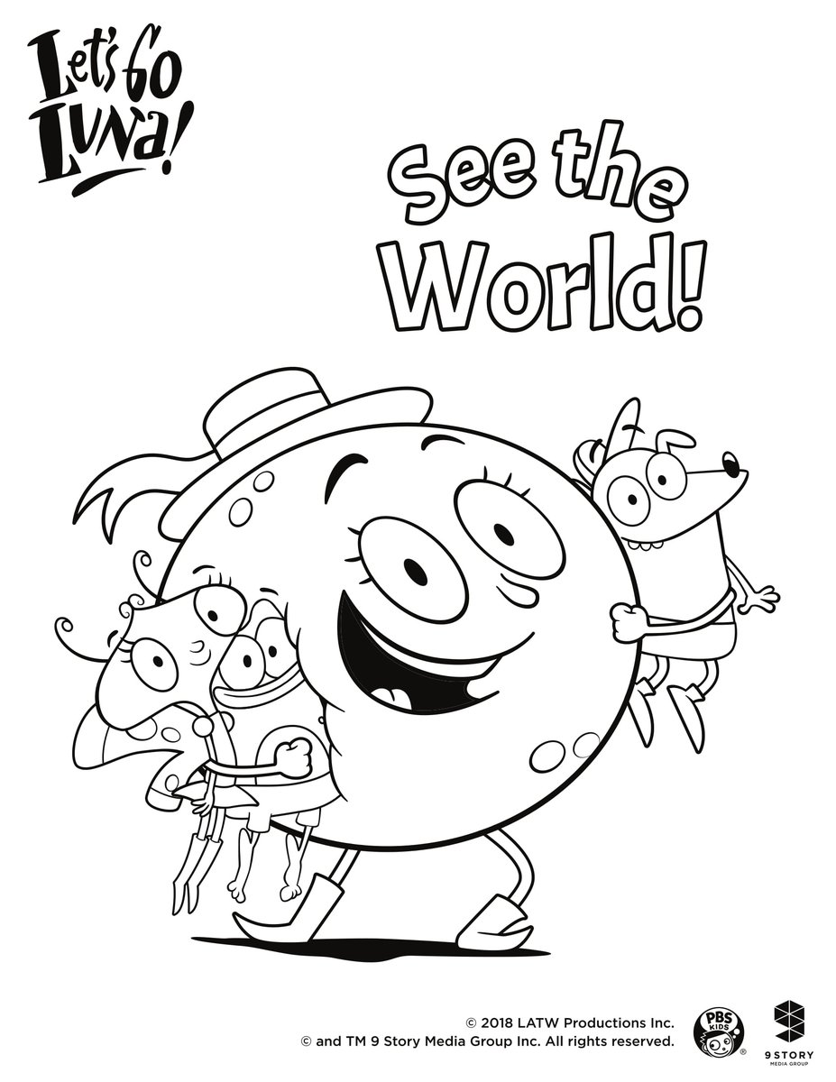 SEE THE WORLD with Luna, Andy, Leo and Carmen! Be sure to ...