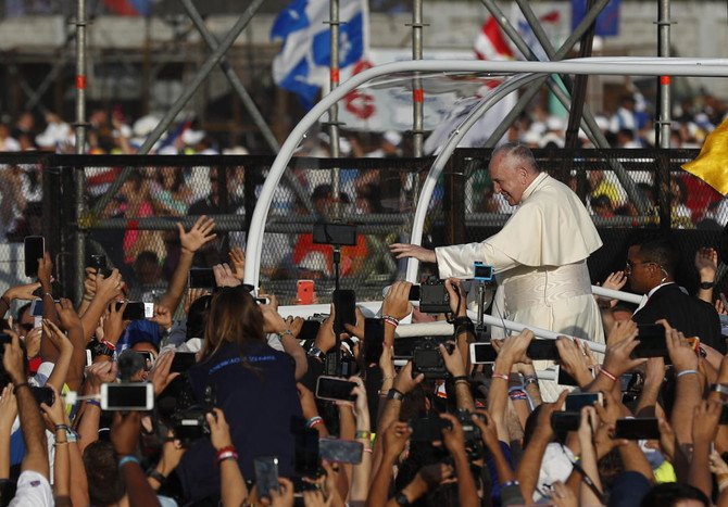 #PopeFrancis (@Pontifex) winds up #WorldYouthDay events in #Panama with giant mass  https://t.co/EEhrzHunLi